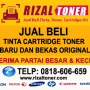 Jual beli cartridge dan toner Baru atau bekas – hubungi RIZAL TONER TLP: 0818-606-659